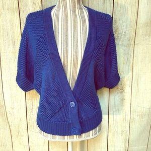 Worthington Royal Blue Cozy Knitted XL Cardigan